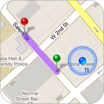 Customers Can Find You From Anywhere In The World With Turn By Turn Directions
